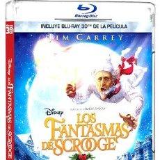 Cine: LOS FANTASMAS DE SCROOGE BLURAY 3D O. Lote 280096463