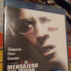 Cine: BLU-RAY EL MENSAJERO DEL MIEDO. Lote 280120708