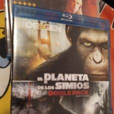 Cine: BLU-RAY EL PLANETA DE LOS SIMIOS. Lote 280120828
