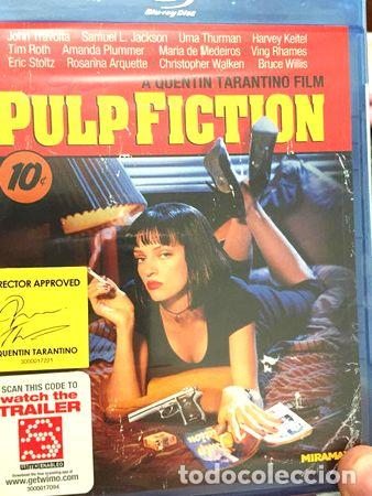BLU RAY PULP FICTION (Cine - Películas - Blu-Ray Disc)