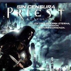 Cine: PRIEST EL VENGADOR PAUL BETTANY BLURAY ORIGINAL. Lote 280082888