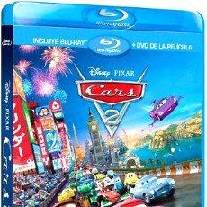 Cine: CARS 2 BLURAY DVD ORIGINAL IMPORTADO USA. Lote 280088673