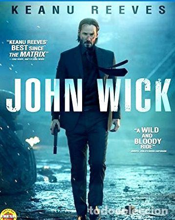 BLU RAY JOHN WICK DVD K REEVES (Cine - Películas - Blu-Ray Disc)