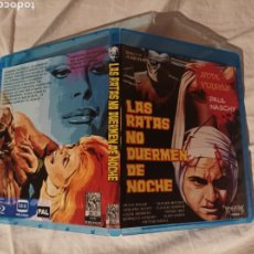 Cine: LAS RATAS NO DUERMEN DE NOCHE PAUL NASCHY BLU RAY DISC ORIGINAL BD R VERSIÓN INTEGRA. Lote 280465498