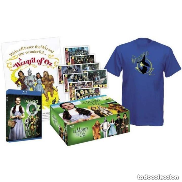 EL MAGO DE OZ BLU-RAY + POSTER + POSTALES + CAMISETA NUEVO PRECINTADO (Cine - Películas - Blu-Ray Disc)