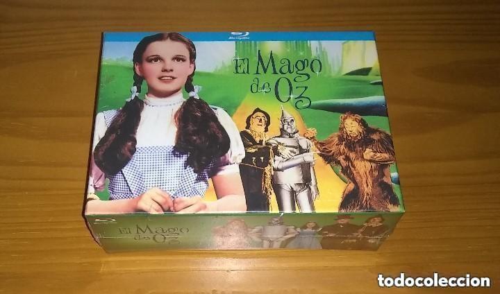 Cine: EL MAGO DE OZ BLU-RAY + POSTER + POSTALES + CAMISETA NUEVO PRECINTADO - Foto 2 - 281935708