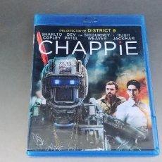 Cinema: CHAPPIE - BLURAY,ESAPÑOL. Lote 285468188