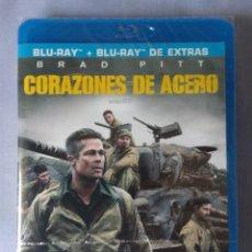 Cine: ENVIO INCLUIDO /// BLU RAY CORAZONES DE ACERO (FURY). 2 DISCOS.. Lote 285527323