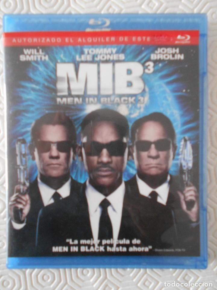 MIB 3. MEN IN BLACK 3. BLURAY DE LA PELICULA DE WILL SMITH, TOMMY LEE JONES Y JOSH BROLIN. (Cine - Películas - Blu-Ray Disc)