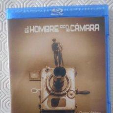 Cine: EL HOMBRE CON LA CAMARA. BLURAY DE LA PELICULA DE DZIGA VÉRTOV. 67 MINUTOS. BLANCO Y NEGRO. UNA JOYA. Lote 285977343