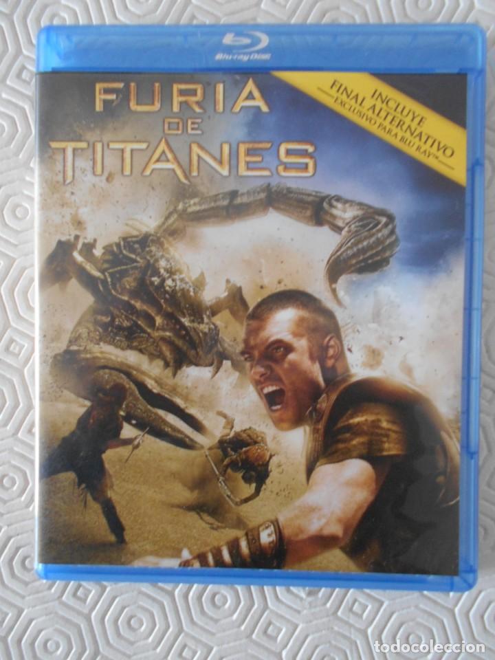 FURIA DE TITANES. BLURAY DE LA PELICULA INCLUYENDO FINAL ALTERNATIVO EXCLUSIVO PARA BLURAY. COLOR. 1 (Cine - Películas - Blu-Ray Disc)