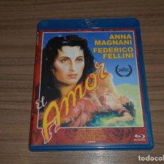 Cinéma: EL AMOR BLU-RAY DISC ANNA MAGNANI FEDERICO FELLINI. Lote 285978893