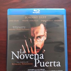Cinéma: BLU-RAY LA NOVENA PUERTA - JOHNNY DEPP (DM). Lote 286647508