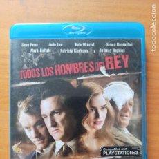 Cinéma: BLU-RAY TODOS LOS HOMBRES DEL REY - SEAN PENN, JUDE LAW, KATE WINSLET (IL). Lote 287473448