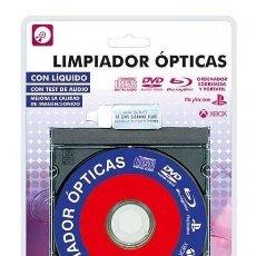 Cine: CD LIMPIADOR ÓPTICAS LASER PARA CD, DVD, BLU-RAY, XBOX, PS | NUEVO A ESTRENAR EN BLISTER PRECINTADO. Lote 287860198