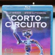 Cine: CORTOCIRCUITO, BLURAY, SEGUNDA MANO PERO EN PERFECTO ESTADO. Lote 288062308