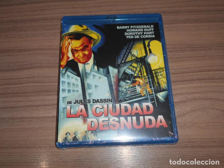 LA CIUDAD DESNUDA BLU-RAY DISC BARRY FITGERALD NUEVO PRECINTADO (Cine - Películas - Blu-Ray Disc)