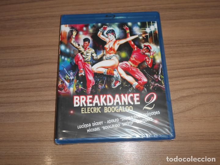 BREAKDANCE 2 ELECTRIC BOOGALOO BLU-RAY DISC NUEVO PRECINTADO (Cine - Películas - Blu-Ray Disc)