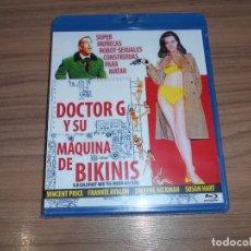 Cine: DOCTOR G Y SU MAQUINA DE BIKINIS BLU-RAY DISC VINCENT PRICE NUEVO PREICNTADO. Lote 288464983