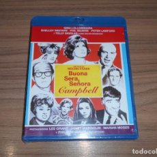 Cine: BUONA SERA SEÑORA CAMPBELL BLU-RAY DISC GINA LOLLOBRIGIDA PETER LAWFORD TELLY SAVALAS PRECINTADO. Lote 288465158