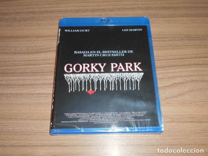 GORKY PARK BLU-RAY DISC WILLIAM HURT LEE MARVIN NUEVO PRECINTADO (Cine - Películas - Blu-Ray Disc)
