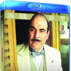 Cine: POIROT TEMPORADA 9 BLURAY - NUEVO Y PRECINTADO. Lote 288607788