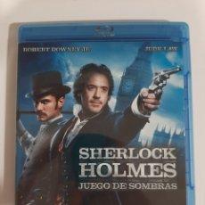 Cine: BRS96 SHERLOCK HOLMES JUEGO DE SOMBRAS -BLURAY SEGUNDAMANO. Lote 288917123