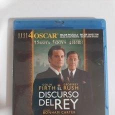 Cine: BRS94 EL DISCURSO DEL REY -BLURAY SEGUNDAMANO. Lote 288920333