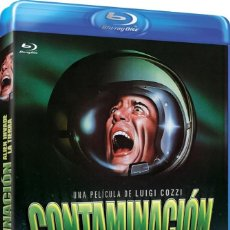 Cine: CONTAMINACION, ALIEN INVADE LA TIERRA (DIR: LUIGI COZZI) - BLURAY NUEVO Y PRECINTADO. Lote 288925438