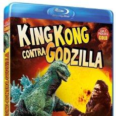 Cine: KING KONG CONTRA GODZILLA (DIR: ISHIRO HONDA) - BLURAY NUEVO Y PRECINTADO. Lote 288926713