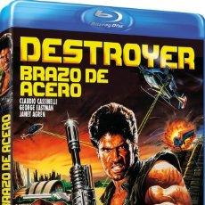 Cine: DESTROYER BRAZO DE ACERO (DANIEL GREENE, JANET AGREN) - BLURAY NUEVO Y PRECINTADO. Lote 288926843