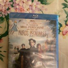 Cine: EL HOGAR DE MISS PEREGRINE PARA NIÑOS PELCULIARES BLURAY PRECINTADO. Lote 288937013