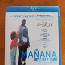 Cine: BLU-RAY MAÑANA EMPIEZA TODO - OMAR SY (Z5). Lote 289444298
