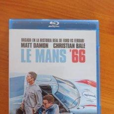 Cine: BLU-RAY LE MANS '66 - MATT DAMON, CHRISTIAN BALE (D6). Lote 289448913