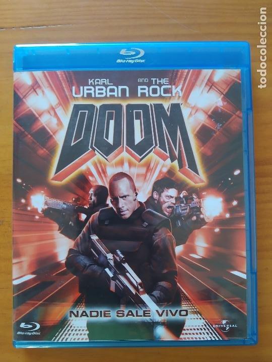 BLU-RAY DOOM - KARL URBAN, THE ROCK (F6) (Cine - Películas - Blu-Ray Disc)