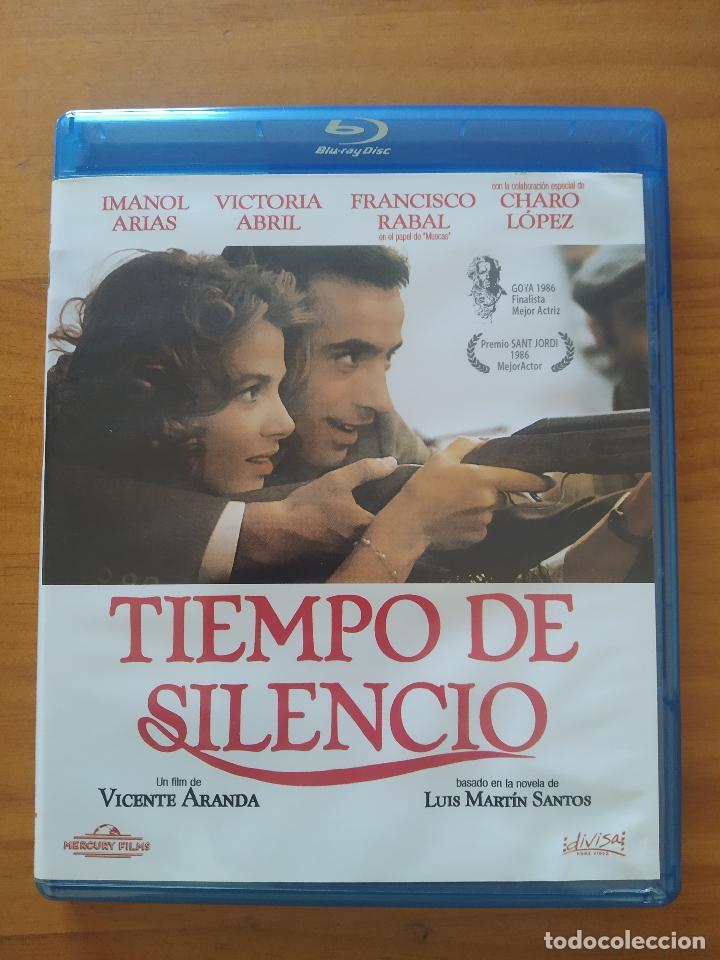 BLU-RAY TIEMPO DE SILENCIO - VICENTE ARANDA, IMANOL ARIAS, VICTORIA ABRIL (G6) (Cine - Películas - Blu-Ray Disc)