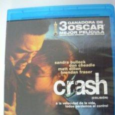 Cine: CRASH (INCLUYE IDIOMA CASTELLANO) PREMIO ÓSCAR A LA MEJOR PELÍCULA 2005 BLU-RAY. Lote 289702988