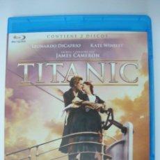 Cine: TITANIC 2 DISCOS (INCLUYE IDIOMA CASTELLANO) PREMIO ÓSCAR A LA MEJOR PELÍCULA 1997 BLU-RAY. Lote 289703393