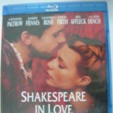 Cine: SHAKESPEARE IN LOVE (INCLUYE IDIOMA CASTELLANO) PREMIO ÓSCAR A LA MEJOR PELÍCULA 1998 BLU-RAY. Lote 289704313