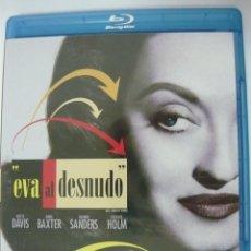 Cine: EVA AL DESNUDO (INCLUYE IDIOMA CASTELLANO) PREMIO ÓSCAR A LA MEJOR PELÍCULA 1950 BLU-RAY. Lote 289705263