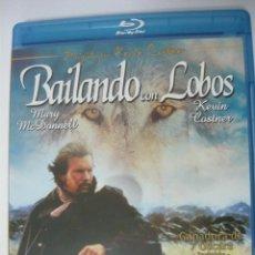 Cine: BAILANDO CON LOBOS (INCLUYE IDIOMA CASTELLANO) PREMIO ÓSCAR A LA MEJOR PELÍCULA 1990 BLU-RAY. Lote 289705458