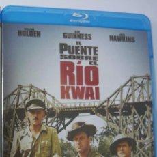 Cine: EL PUENTE SOBRE EL RÍO KWAI (INCLUYE IDIOMA CASTELLANO) PREMIO ÓSCAR MEJOR PELÍCULA 1957 BLU-RAY. Lote 289705958
