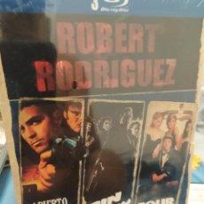 Cine: BLU-RAY PACK 3 PELIS ROBER RODRÍGUEZ. Lote 289760148
