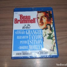 Cine: BEAU BRUMMELL BLU-RAY DISC STEWART GRANGER ELIZABETH TAYLOR PETER USTINOV NUEVO PRECINTADO. Lote 289802908