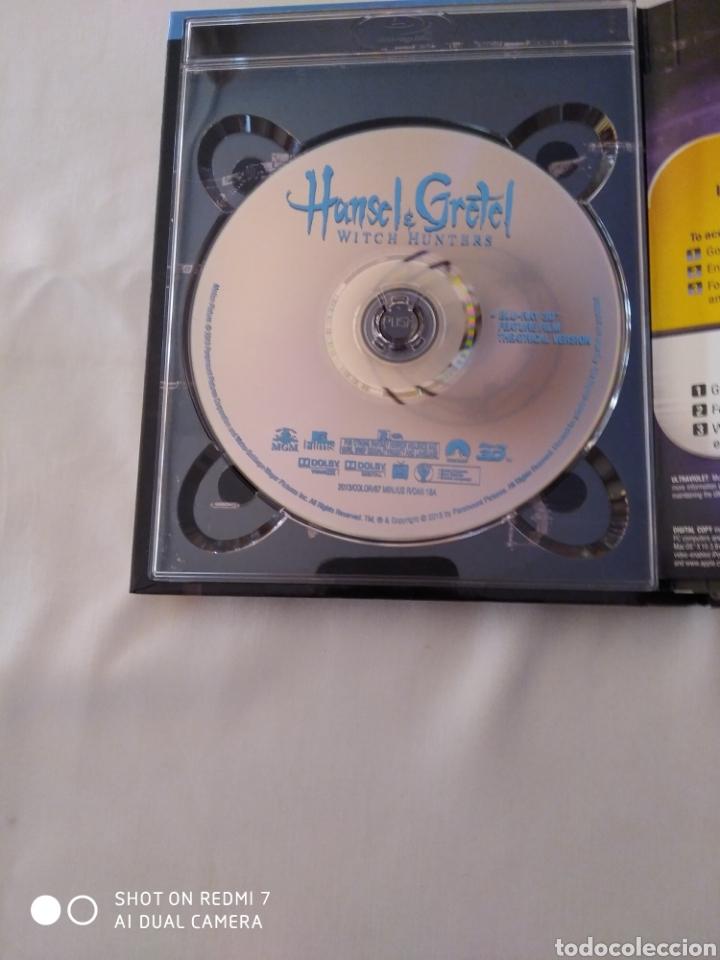 Cine: Hansel and Gretel, Witch Hunters, Blu-ray 3D+ Blu-ray+ DVD,como nuevo - Foto 2 - 290103343