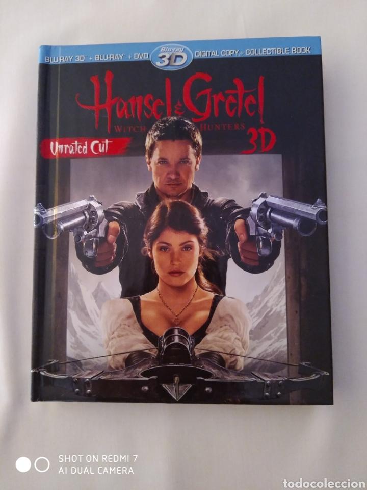 HANSEL AND GRETEL, WITCH HUNTERS, BLU-RAY 3D+ BLU-RAY+ DVD,COMO NUEVO (Cine - Películas - Blu-Ray Disc)