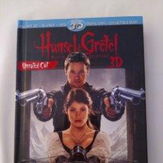 Cine: HANSEL AND GRETEL, WITCH HUNTERS, BLU-RAY 3D+ BLU-RAY+ DVD,COMO NUEVO. Lote 290103343