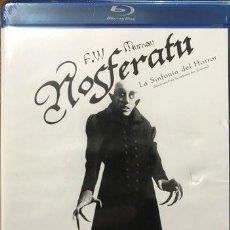 Cine: BLU RAY NOSFERATU SINFONIA DEL HORROR 1922 DE F W MURNAU. Lote 291363023
