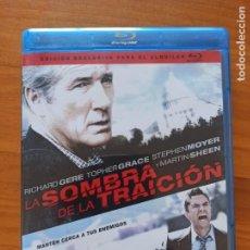 Cine: BLU-RAY LA SOMBRA DE LA TRAICION - EDICION DE ALQUILER - RICHARD GERE (2N). Lote 291841418