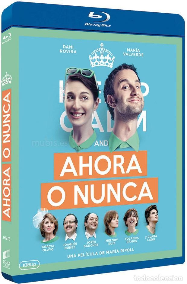 """BLU_RAY DESCATALOGADO """"AHORA O NUNCA"""", CON DANI ROVIRA Y MARÍA VALVERDE (Cine - Películas - Blu-Ray Disc)"""